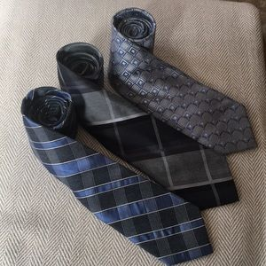 Bundle of 3 Michael Kors men's ties